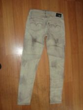 levi's demi curve low rise skinny jeans size 26