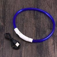 LED Hundehalsband USB aufladbare leuchtende Hundehalsband für Nacht Sicherheit 5