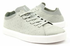 Native Mens Monaco Low Shoes Grey White 10.5 New