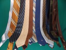 12 Men's Neck Ties, Different Styles, Colors, Brands~Christian Dior~~Group 1