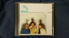 STANLEY COWELL FREDERICK WAITS BUSTER WILLIAMS - WE THREE. CD DIW