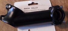 110mm Kalloy AS-009 35 degree Rise Stem BLACK 1 1/8  28.6mm x 25.4mm Alloy NEW