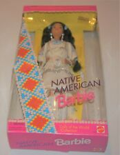 1990's Special Edition Native American Barbies editions 1,2, and 3.