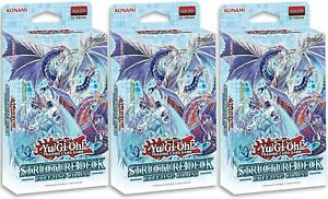 Yu-Gi-Oh! Freezing Chains Structure Deck Set of 3 Decks