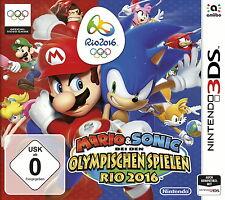 Mario & Sonic bei den Olympischen Spielen: Rio 2016 (Nintendo 3DS, 2016) NEUWARE