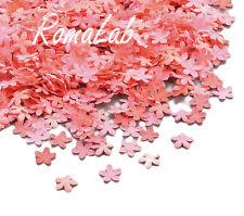 8-9 grammi di fiorellini rosa in plastica da 0,8 cm FIORE SCRAPBOOKING
