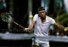 Bjorn Borg Tennis Art Print, 12x18, signed and numbered by artist, only 50