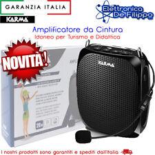 Karma BM 539 Amplificatore da Cintura con Microfono archetto