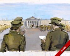 NATIONAL DAY OF PRAYER PAINTING BRITISH WWII HISTORY WAR ART REAL CANVAS PRINT