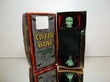 YONE JAPAN 2035 COFFIN BANK - MONEY BOX - BLACK L16.0cm - GOOD CONDITION IN BOX