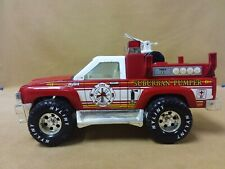 Vintage Nylint Pressed Steel Fire Rescue Suburban Pumper Truck Pickup Truck