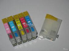Refillable ink cartridges #80 Epson stylus photo P50 PX650 PX660 PX700W PX710W