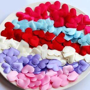 100 x 20mm  Heart shape Sponge Petal Wedding decoration Party Supplies