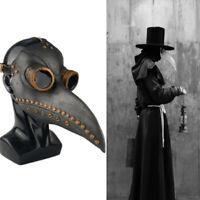 tumao Steampunk Plague Doctor Bird Mask Led Halloween Christmas Costume Party