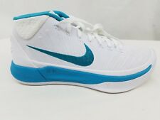 Nike Zoom Kobe AD Mid White Aqua Basketball Shoes 942521-100 Mens Size 7 Rare
