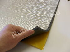 Fire Retardant Self adhesive Foil backed PE Foam Under Car Bonnet 1m x 1m x 8mm