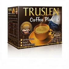 6 Box (16g x 72Sachet) Dietary Truslen Instant Coffee Mix Powder Coffee Plus DHL