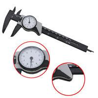 """0-150mm Dial Vernier Caliper Measurement Gauge Micrometer Tool 0-6"""" & Case NEW"""