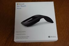 Microsoft Arc Touch Mouse BlueTrack Technology -Black RVF-00052
