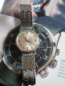 Vintage Duward (Aquastar) Steel Sports Diver Watch (1960's)