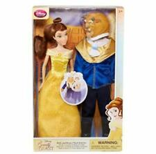 Beauty & The Beast Belle and Beast Doll Gift Set Disney Colllection
