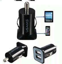 Car Charger Dual Port 3.1A Universal 2 USB 12V Lighter Socket Small Adapter