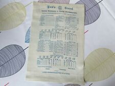 More details for young amateurs v professionals 1934 mcc lord's ground silk cricket scorecard