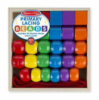 Melissa and Doug Primary Lacing Beads - 10544 - NEW!