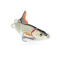 Multi-section 5 section Fishing Lure Crank Bait Swimbait Bass Shad Dace 3D M2E8