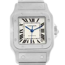Cartier Santos Galbee XL Steel Mens Automatic Watch W20098D6