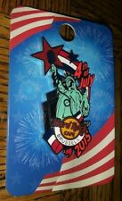 HARD ROCK CAFE HRC 2015 BRUSSELS STATUE OF LIBERTY 4TH JULY PIN COLLECTIBLE /LE