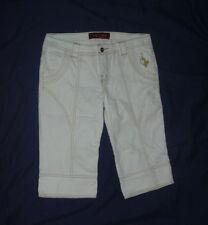 BABY PHAT  White Bermuda Shorts  - SIZE 7
