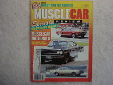Muscle Car Review 1987 October Chevelle SS396, 406 Galaxie, GTO, Challenger T/A