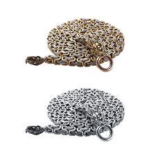 New Equipment Steel Self Defense Hand Bracelet Chain Whip Necklace Waist Chains