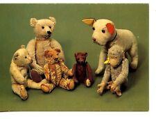 Stuffed Teddy Bears-Monkey-Bulldog Toys-German-Cute Modern Printed Postcard