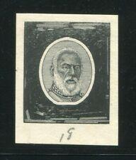 TONGA 1892 KING GEORGE I DIE PROOF KING'S HEAD NEW ZEALAND No.18