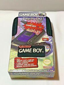 Nintendo Game Boy GB7 Original Pocket Color Carrying Case New Old Stock Vintage