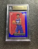 SHAI GILGEOUS ALEXANDER 2018-19 NBA HOOPS #262 BLUE ROOKIE CARD BGS 9.5 GEM MINT