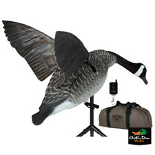 New Lucky Duck Super Canada Goose Flapper Hdi With Bag And Remote Motion Decoy