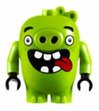 LEGO® Angry Birds Minifig - Green Pig Piggy -  open mouth tongue -  75821