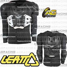 """Leatt Adult 4.5 Black Body Protector Body Armour Chest L/XL 172-184cm 5'8"""" to 6'"""