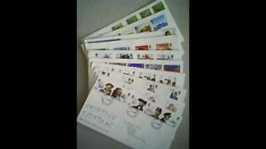 10 UK Royal Mail FIRST DAY COVERS -1981-82 incl Chas Darwin & Maritime Heritage.