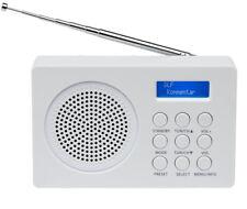 MEDION LIFE E66320 MD 43000 DAB+ Radio weiß UKW digital 20 Senderspeicher