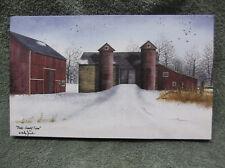 Bucks County Farm Winter Silo Canvas Decor Billy Jacobs Barn Farm Small