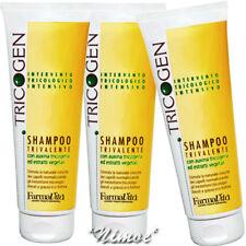 Shampoo Trivalente 3 x 250ml Tricogen ® Farmavita auxina tricogena estratti