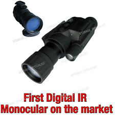 Master Digital NV Night Vision Goggles Monocular Security Camera IR Gen Tracker