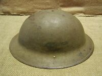 Vintage WWI Army Helmet   Old Antique Military Gear 4782