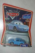 CARS DISNEY SALLY NEUF SUPERCHARGED LA PORSCHE BLEUE AMIE DE FLASH MCQUEEN