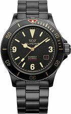 Glycine GL0290 Men's Combat Sub 42 Vintage Automatic 42mm Black PVD Watch