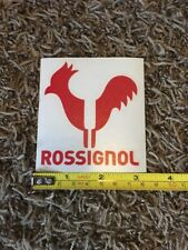 "Rossignol Rooster Logo Red Sticker Decal Approx 3.5"" Ski Skiing Outdoor"